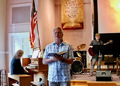 Worship Service with Pastor Randy Matthews (8-19-2018)- Benediction (nomad7674) Tags: 2018 20180819 august beacon hill church efca evangelical free worship service monroect monroe ct connecticut christian christianity benediction blessing prayer