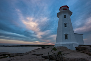 Morning at Peggys Cove
