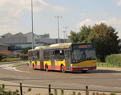 Solaris Urbino 18III, #8564, MZA Warszawa (transport131) Tags: bus autobus wtp ztm warszawa mza warsaw solaris urbino