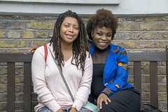 DSC_6675 John Wesley's Chapel City Road London with Alesha from Jamaica and Tricia from Ghana Two Beautiful Ladies (photographer695) Tags: john wesley's chapel city road london with alesha from jamaica tricia ghana two beautiful ladies