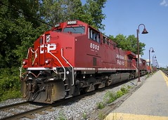 They look great when they're fresh (Michael Berry Railfan) Tags: cp canadianpacific cp143 lachine montreal quebec ge generalelectric cp8002 ac44cwm
