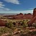 Sandstone Fins Across the Utah Landscape (Arches National Park)