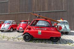 BMW Isetta Meeting (karlheinz klingbeil) Tags: vintagecar südbaden car bmw badenwürttemberg isetta schwarzwald auto meeting classiccar gutachimbreisgau deutschland de feuerwehr firedepartment