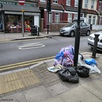 Dumping reported - Thackeray Avenue at the junction with Windsor Road thumbnail