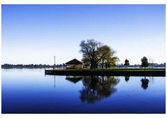 Lake Wendouree (Shantha64) Tags: lake water morning reflections sunrise colours
