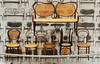 Collection of vintage bentwood chairs - Pinakothek der Moderne, Munich - Explore! (Monceau) Tags: pinakothekdermoderne munich chairs chair vintage bentwood seats display explore explored