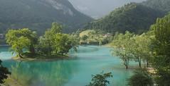 Lago di Tenno (madbesl) Tags: italien italia italy europa europe see lake lago lagoditenno spiegelung reflection landschaft landscape natur nature wasser view olympus omd em10 m10 omdem10 zuiko1250 tennosee trentino lagoazzurro