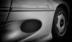 Jaguar XJ220 (Garry Macdonald Photography) Tags: jaguar cars supercar mono blackwhite
