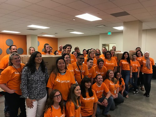 Optum Packing Event 8/8/18