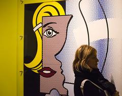 Modelo (221/365) (Walimai.photo) Tags: color colour yellow blonde model modelo roylichtenstein moco amsterdam holanda holland netherlands nikon d7000 nikkor 35mm candid robado portrait