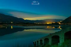 La Villa Joiosa (Kuba Petrymusz) Tags: alicantecostablancaspainespañahiszpania jezioro góry kamienie zachódsłońca woda piękny obraz widok most ciche miejsce super wnocy miasteczko odbicie niebo costablanca lavillajoiosa
