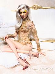 Summer Night City (kingdomdoll) Tags: summernightcity demetae kingdomdoll gold fbjd resin resinfashiondoll fashiondoll doll kingdom fashion beauty glamour