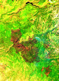 Yosemite Valley and the Ferguson Fire, variant