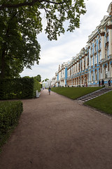 Path under the shadow of the Trees (fedoseenko) Tags: санктпетербург россия красота colour природа beauty blissful loveliness beautiful saintpetersburg sunny art shine dazzling light russia day green park peace garden blue white голубой небо лазурный color sky pretty sun пейзаж landscape clouds view heaven mood summer serene golden gold gate palace дворец colours picture exhibition pavilion hall architecture building photographer фотограф catherine road tree grass catherinepalace nature alley history trees tsar stairway