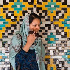 Iran 2016 - Streets of Tehran (davidsymonds) Tags: golestanpalace iran tehran portrait