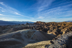 Badlands (CraDorPhoto) Tags: canon5dsr landscape mountains roughterrain sky clouds blue shadows light usa deathvalley california outdoors nature
