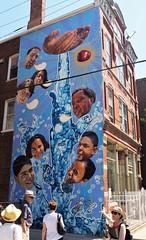 Sírvales (Brule Laker) Tags: chicago illinois caf pilsen chicagoarchitecturefoundation walkpilsen art murals jeffzimmerman