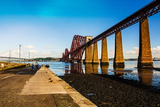 South Queensferry. Scotland.