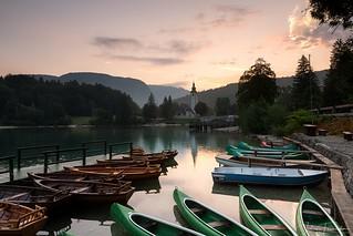 Lac de Bohinj, Slovenie