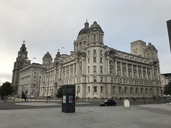 The Three Graces - Pier Head, Liverpool - August 2018 (firehouse.ie) Tags: merseyside architecture liverpool pierhead royalliverbuilding liverbuilding cunardbuilding cunard portofliverpoolbuilding portofliverpool buildings building threegraces