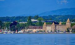 Port et château de Morges (Diegojack) Tags: préverenges vaud suisse d500 morges chateau port zoom groupenuagesetciel