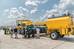 Huge Snow Plow showing Sweeper (Charles G. Haacker) Tags: trucks trains planes automobiles tractors fireengines firefighters stearman airfield