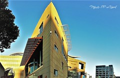 438. MUSEUM: Skinny Side Panorama (Meili-PP Hua 2) Tags: photographypassionsxyz streetphotography city citybeat citypulse landscape building buildings mlpphcity architecture sky roof walls museum clty town tall urban