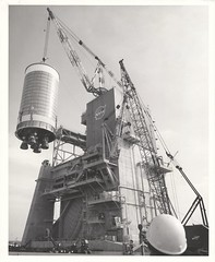 a_v_bw_o_n (Official NASA-MTF PAO photo, no. '65-4216) (apollo_4ever) Tags: flamedeflector blastdeflector americanhoistderrick americancrane manitowoccrane gantrycrane statictestfiring staticteststand staticteststage rocket rocketstage perspectiveview massive hardhat cylinder cylindrical a2teststand nasameatball nasalogo nasaemblem overheadcrane j2engine j2engines j2rocketengine j2rocketengines siit secondstage siistage saturnv saturnvlaunchvehicle saturnvrocket saturn5rocket saturnrocket spacerace projectapollo apolloprogram apollospaceprogram msfc marshallspaceflightcenter nasa nasarocket nasafacility johncstennisspacecenter stennisspacecenter mtf mississippitestfacility blackandwhite glossyphoto