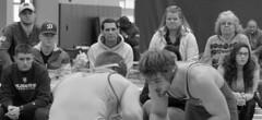 WPI-USM 197 2018-01-27 DSC_8580bw (bix02138) Tags: worcesterpolytechnicinstitute wpiengineers universityofsouthernmaine usmhuskies sportsrecreationcenterworcesterpolytechnicinstitute worcesterma january27 2018 wrestling wrestlers grapplers lucha lutte ringen sports intercollegiateathletics athletes jocks ©2018lewisbrianday 197pounds 197 michaelcurtis brandoncousino