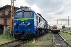 ST44-1201 (PM's photography) Tags: train trainspotting rail railroad railway pkp pkpcargo cargo freight st44 m62 gagarin czerwiensk st441201 diesel loco