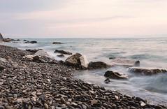Waves (ericatakespictures) Tags: water d5100 nikon slovenia rocky beach coast sea waves