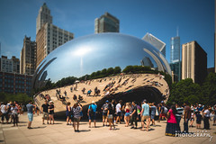 (8.3.18)-August_Downtown-WEB-41 (ChiPhotoGuy) Tags: chicago architecture buildings summer nikon tiltshift pce nikkor downtown cloudgate thebean millenniumpark