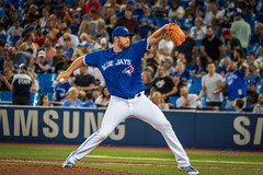 Curveball Outcome: Ground out to short (_Matt_T_) Tags: jays rays toronto ontario canada ca joebiagini reliever