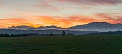 En Route Home - Sunset (isaac.mac) Tags: landscape newzealand nz kiwi sunset drive mood