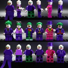 DSC03345 (lbaswjk3ja) Tags: 318318318u knock off knockoff bricks building toy custom batman movie minifigure faces purple suits green villian villain