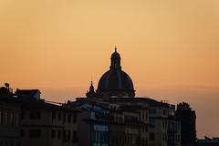 Florentine Sunset (hendrikheiser) Tags: florence sunset skyline italy