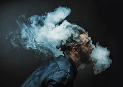 Smoke Wraps. Wrapped: @gibranbh . . #hectorgomezcreativephoto #smoke #smokewrap #smoky #portrait #invisiblebarriers #malemodel #blue #melancholy #jj_portraits #jj_sombre #sombrebeings #sombresociety (HE~GOES) Tags: ifttt instagram