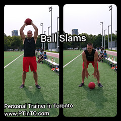 Slam Ball (personaltrainertoronto) Tags: boot camp hiit exercise workout bodybuilding athlete athletic fitness model fit kettlebell free weight bodyweight sexy muscles strong strength powerful track intensity interval abs legs glutes booty butt 6 pack sixpack
