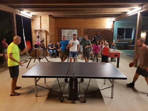 Spannendes Tischtennisturnier