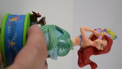 Disney Mail Day - Sketchbook Ornaments - Mulan, Rapunzel, Ariel and Hag - Free Standing - Left Side View (drj1828) Tags: disneystore sketchbook ornament 2018 purchase ariel video partofyourworld