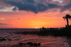 Sunset over Lake Washington (Michael Seeley) Tags: 2018 canon fl firstdayofsummer florida lake lakewashington landscape melbourne mikeseeley shoreline spacecoast sunset summersolstice