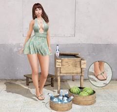 # Mili # 4537 (Mili Miklos (Inventory Mess Blog/Mili Mix)) Tags: taikou summerfest2018 rama rebelhope uber lelutka amarabeauty session dubaievent mina foxcity cae justbecause maitreya