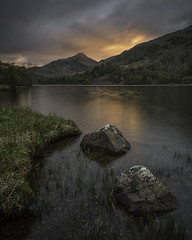 The Light Pours Out (markrd5) Tags: llyngwynant wales snowdonia sunset ndfilters leefilters glow longlungs wrs fadeawayandradiate