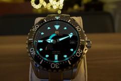 RCS08050 - Grand Seiko SBGA231 lume (CraigShipp.com Photos - Events / People / Places) Tags: grandseiko sbga231 wrist diver titanium