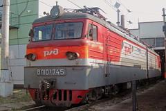 VL10U-745 (zauralec) Tags: rzd ржд локомотив поезд электровоз транспорт депо depot volkhovstroy волховстрой вл10у vl10u vl10u745 745 вл10у745