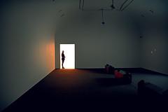 Perspectiva en el MNCARS. Madrid. Spain. (COLINA PACO) Tags: exhibition exposición interior interno mncars museum museos franciscocolina