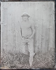 20180805_15289 (AWelsh) Tags: wet plate collodion wetplate andrewwelsh rochester ny camptintype jamboree johncoffer 2018 dundee tintype aluminotype graflex speed graphic buhl 7 1778mm f25 projection projector lens