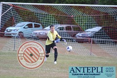 Game against Brockenhurst FC Bournemouth FC www.bfc-bournemouth.co.uk is Proudly sponsored by Antepli, www.antepli.co.uk