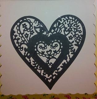Plain Grey Heart