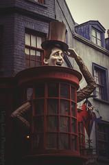 Universal Orlando - Weasley's Wizard Weezes (Greg Larro Photography) Tags: diagonalley diagon alley london uk wizardingworld wizard witch jkrowling wb warnerbros warnerbrothers harrypotter fantasy themepark park attraction fun magic magical weasley weasleys weezes jokes joke shop fred george twins